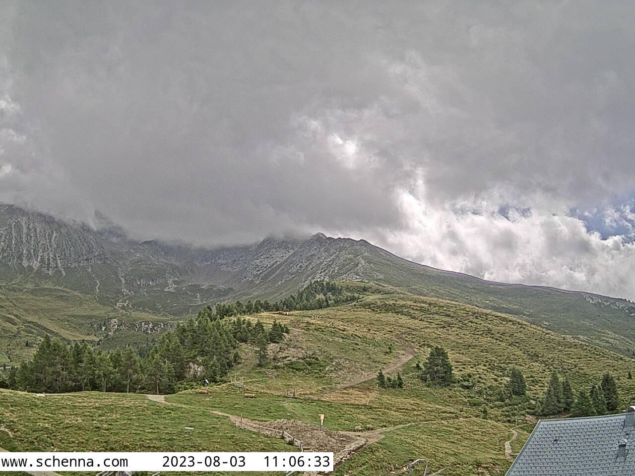 Stazione a Monte Hirzer - Vista zona Hirzer e Monte Hirzer (2.781m)