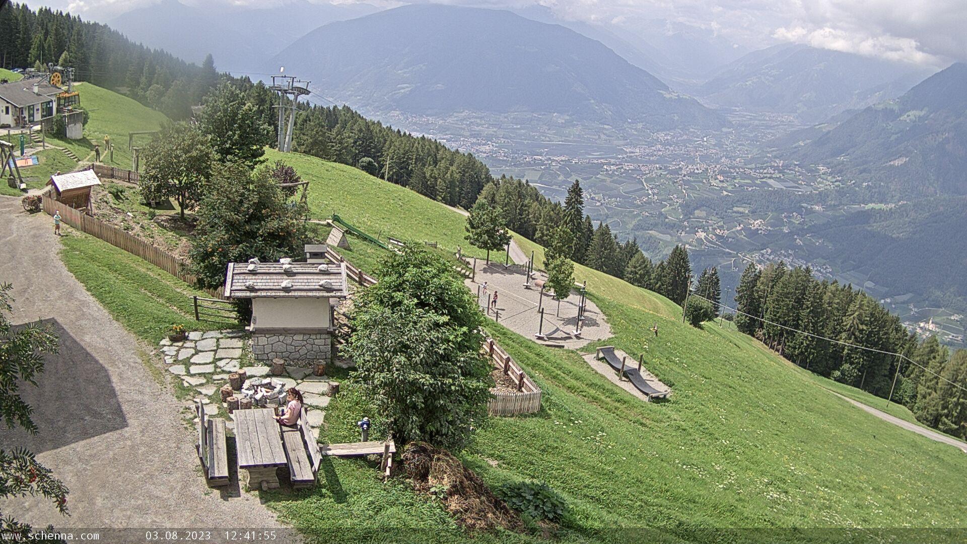 Taser - Monte Scena - Vista direzione Val Venosta