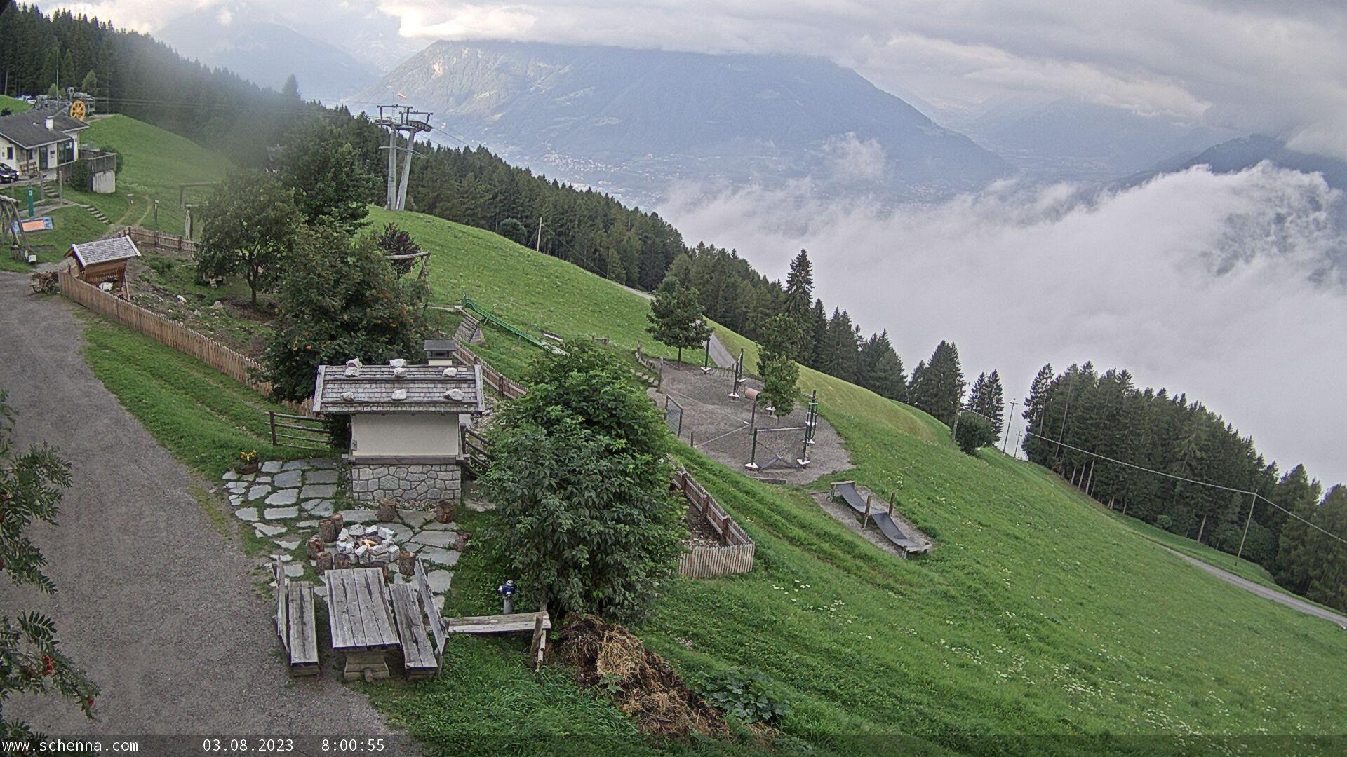 Taser - Schennaberg - View direction Vinschgau